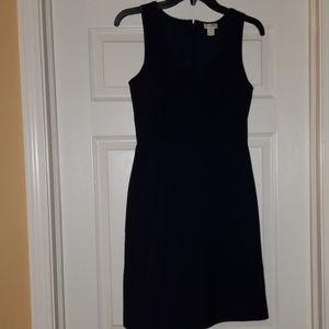 Maybe blue J. Crew Sleeveless scoop neck dress